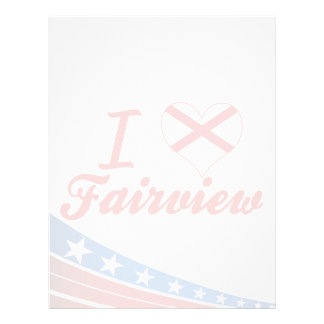 Amo Fairview Alabama Membretes Personalizados