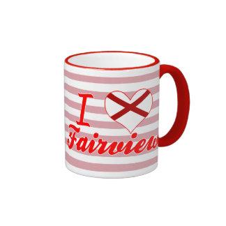 Amo Fairview Alabama Taza De Café