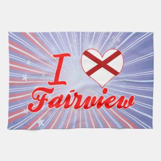 Amo Fairview Alabama Toalla De Mano