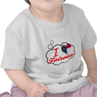 Amo Fairview, Carolina del Norte Camiseta