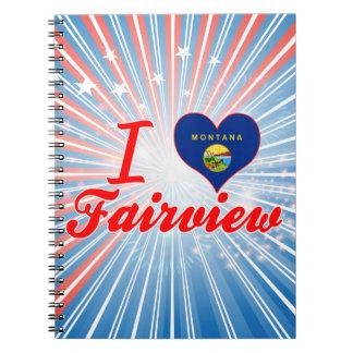 Amo Fairview Montana Libros De Apuntes Con Espiral