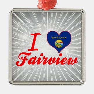 Amo Fairview Montana Ornamento De Navidad