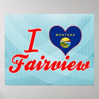 Amo Fairview Montana Poster