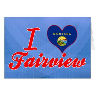 Amo Fairview Montana Tarjeta