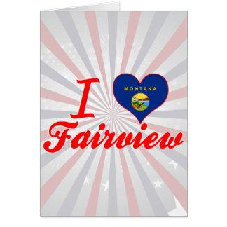 Amo Fairview Montana Tarjetas