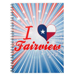 Amo Fairview Tejas Libros De Apuntes Con Espiral