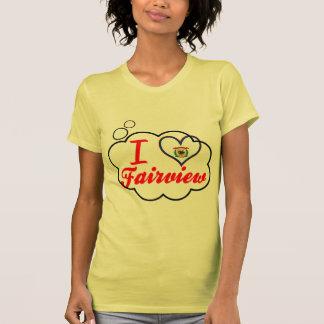 Amo Fairview, Virginia Occidental Camiseta