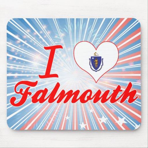 Amo Falmouth, Massachusetts Alfombrilla De Raton