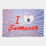 Amo Falmouth, Massachusetts Toallas De Cocina