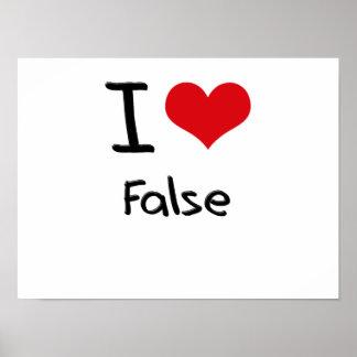 Amo falso posters