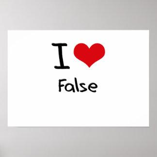 Amo falso poster