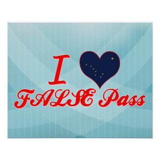 Amo FALSO+Pase Alaska Impresiones