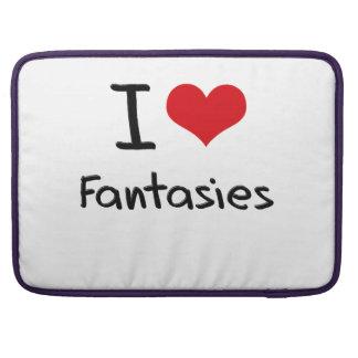 Amo fantasías fundas para macbooks