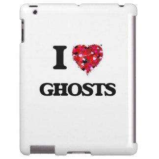 Amo fantasmas funda para iPad