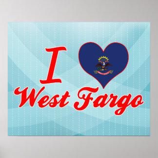 Amo Fargo del oeste, Dakota del Norte Poster