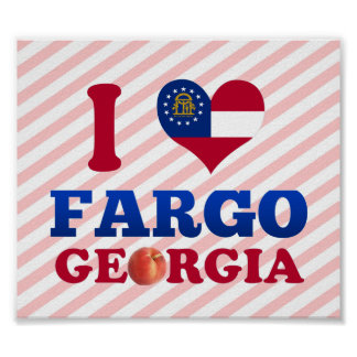 Amo Fargo, Georgia Posters