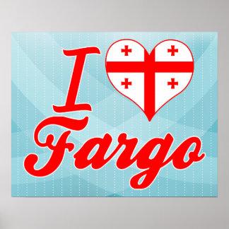 Amo Fargo, Georgia Impresiones