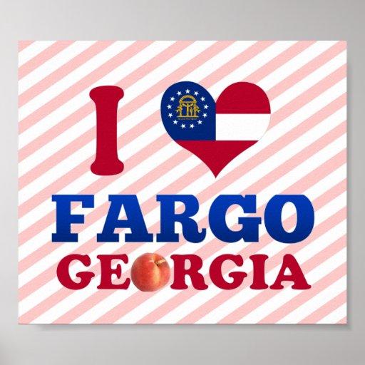 Amo Fargo, Georgia Póster