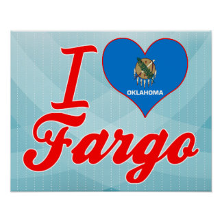 Amo Fargo, Oklahoma Posters