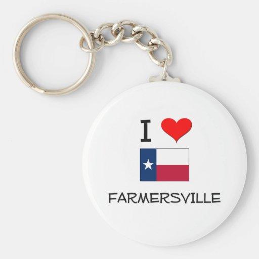 Amo Farmersville Tejas Llavero