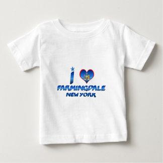 Amo Farmingdale, Nueva York Camisas