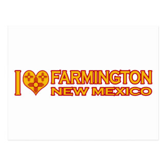Amo Farmington, nanómetro Tarjetas Postales