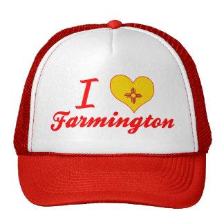 Amo Farmington, New México Gorro De Camionero