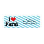 Amo Farsi Etiqueta De Remite