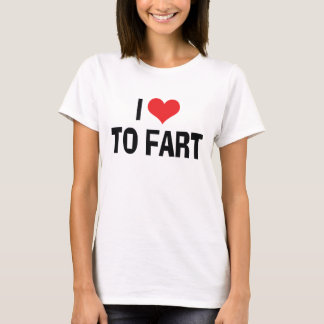 Amo Fart - divertido Fart el humor Playera