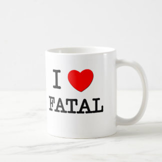 Amo fatal tazas de café