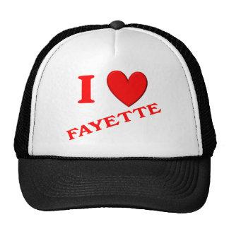 Amo Fayette Gorras
