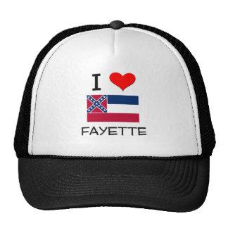 Amo Fayette Mississippi Gorros Bordados