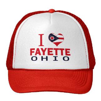 Amo Fayette, Ohio Gorros Bordados