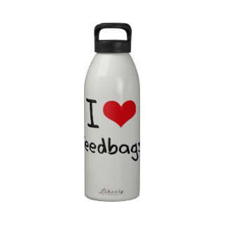 Amo Feedbags Botellas De Beber