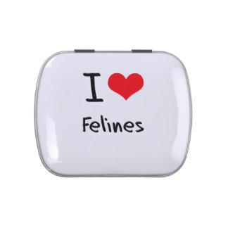 Amo Felines Jarrones De Dulces