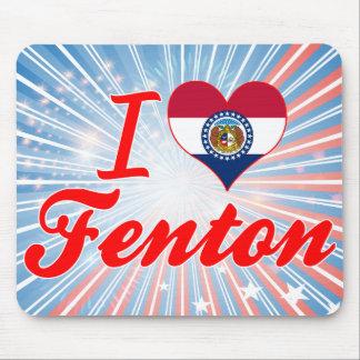 Amo Fenton, Missouri Alfombrillas De Raton