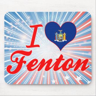 Amo Fenton, Nueva York Alfombrilla De Ratón