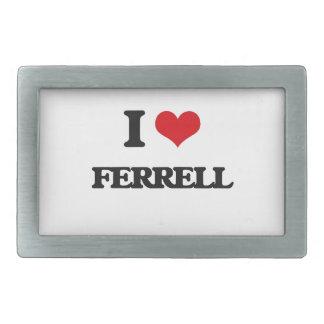 Amo Ferrell Hebillas Cinturon Rectangulares