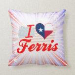 Amo Ferris, Tejas Cojin