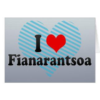 Amo Fianarantsoa, Madagascar Tarjeta De Felicitación
