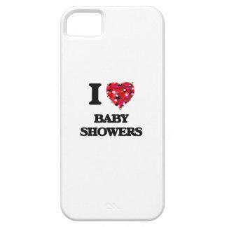 Amo fiestas de bienvenida al bebé iPhone 5 carcasa