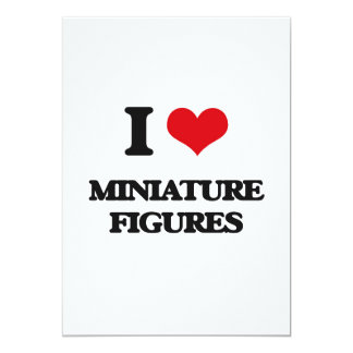 Amo figuras miniatura comunicado personal