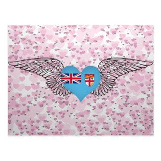 Amo Fiji - alas Tarjetas Postales