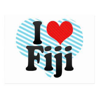 Amo Fiji Tarjetas Postales
