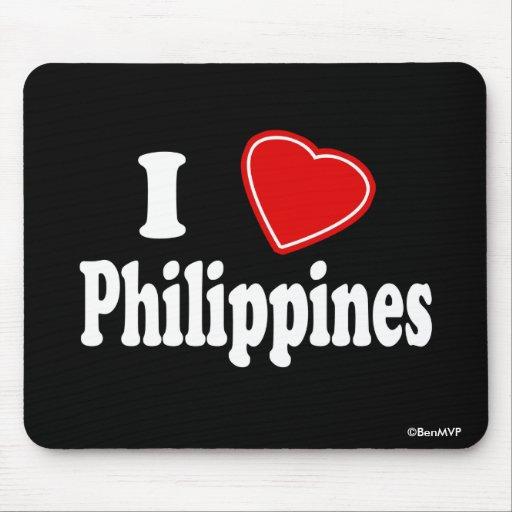 Amo Filipinas Alfombrilla De Raton