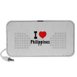 Amo Filipinas Portátil Altavoz