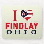 Amo Findlay, Ohio Alfombrilla De Raton