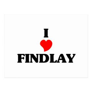 Amo Findlay Tarjeta Postal