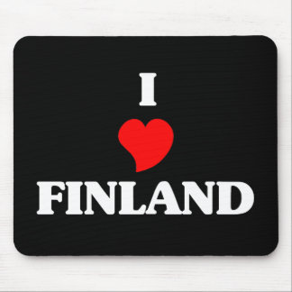 Amo Finlandia Alfombrilla De Raton