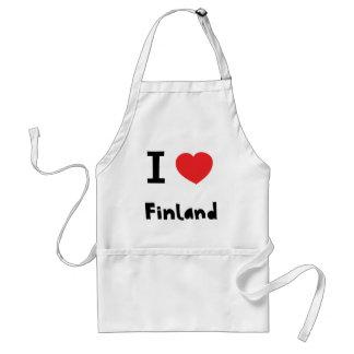 Amo Finlandia Delantales